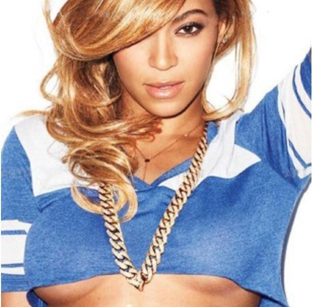 Beyonce Under Boob