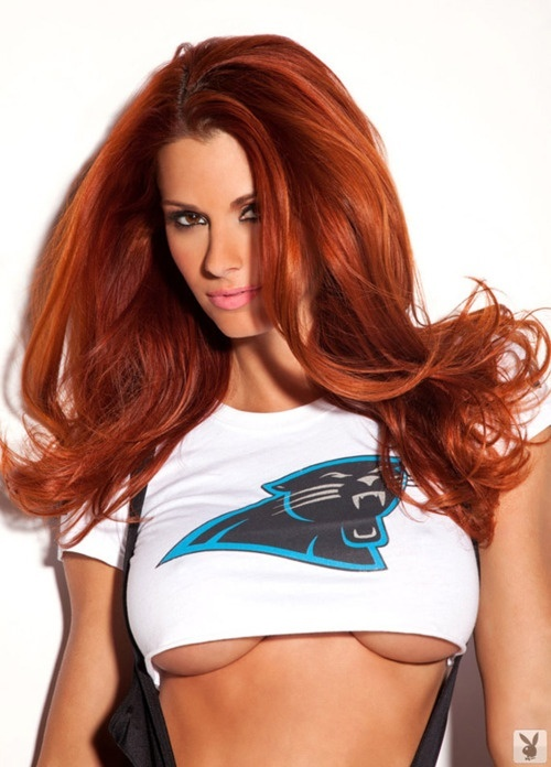 Panthers Under Boob