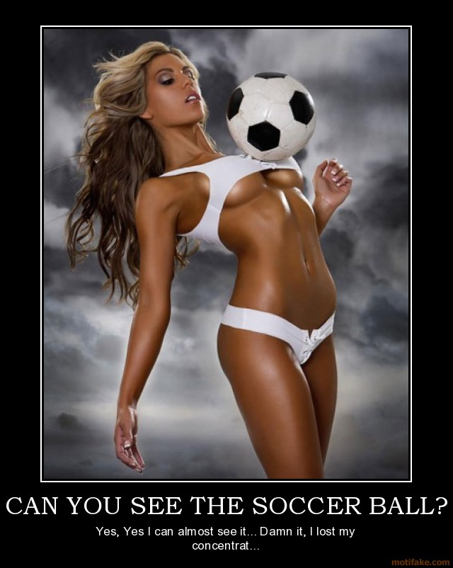 Soccer Under Boob